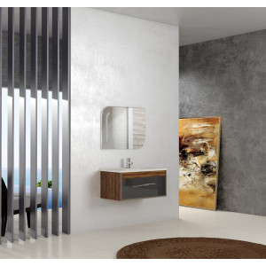 Bathroom washbasin with cabinet 2 pieces 1008
