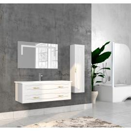 Bathroom washbasin with cabinet 3 pieces 1052