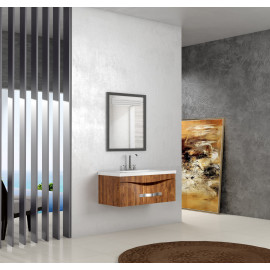 Bathroom washbasin with cabinet 2 pieces 1001