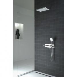 Enjoy Horizontal Concealed 3-Way Bath Mixer Set Chrome