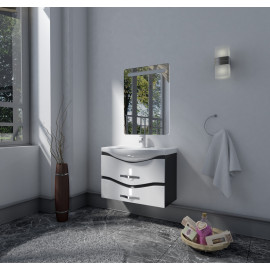 Bathroom washbasin with cabinet 2 pieces 1033