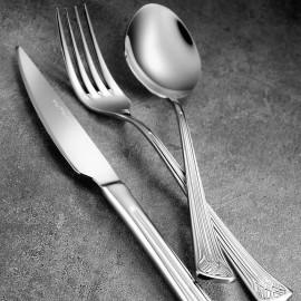 كوتاهيا بورسلان ألوايس طقم 89 قطعة ملاعق وشوك وسكاكين