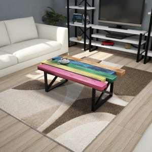 WOOD COLOR COFFEE TABLE (PU3-275)