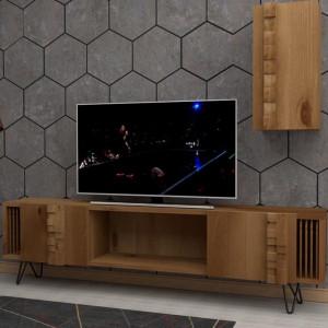 ARAGON WOOD TV UNIT (QC3-101)