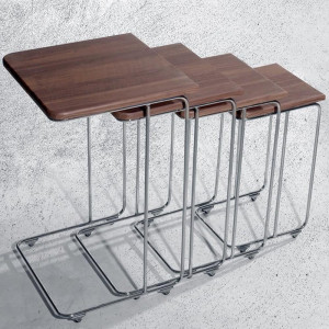 MILL ZIGON COFFEE TABLE WITH 4 (VY3-105)