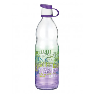 Letra Coloured Decorated Water Bottle (151924)