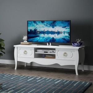 ENYA ENGLİSH COUNTRY TV TABLE WITH DRAWERS (KS3-928)