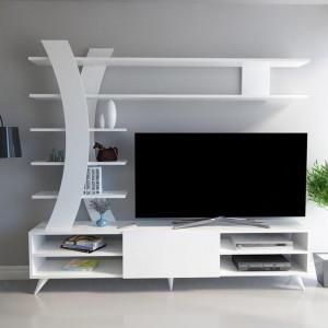 DURU TV UNIT WHITE (CR3-441)