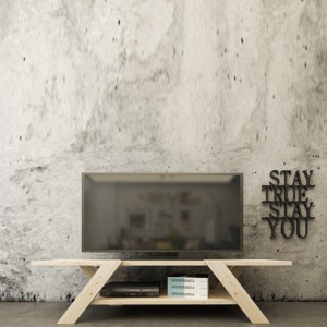 HYPER FULLY WOOD TV TABLE (KR3-128)