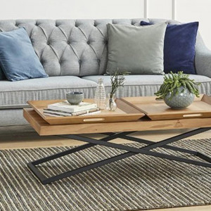 COFFEE TABLE WITH TOWLY TRAY (LG8-403)