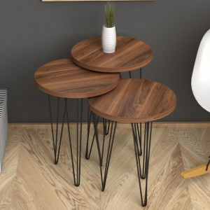 FIONA ZIGON COFFEE TABLE Walnut (NT3-404)