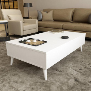 CUP DRAW OPEN SMART COFFEE TABLE (KS3-895)