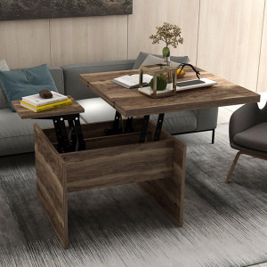 NEW KARISMA SMART TABLE AND TABLE WALNUT (KS3-228)
