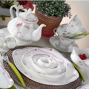 كوتاهيا بورسلان 50106 فين بون 44 قطعة طقم فطور منقوش