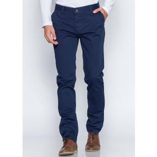 Men's Blue Casual Pants