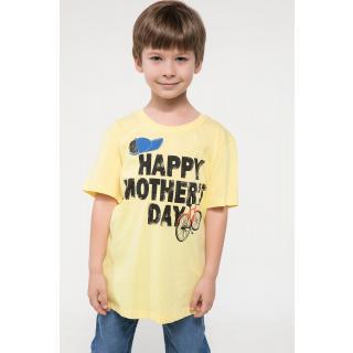 Boy's Short Sleeves Printed T-shirt