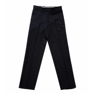 Boy's Navy Blue School Pants